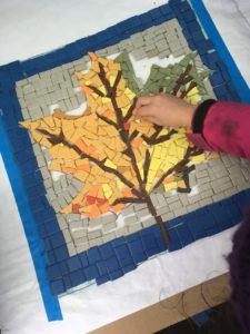 Maple leaf for the Community Growing Center