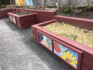 Collaborative school garden beds- app 18 sq. ft.